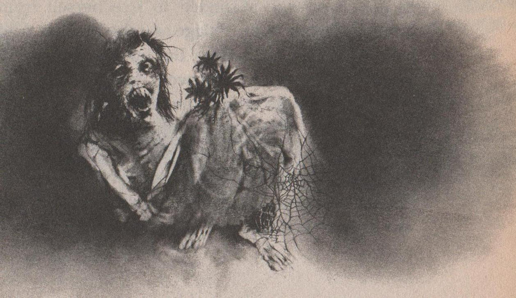 The Dark Illustrations of Stephen Gammell scary stories