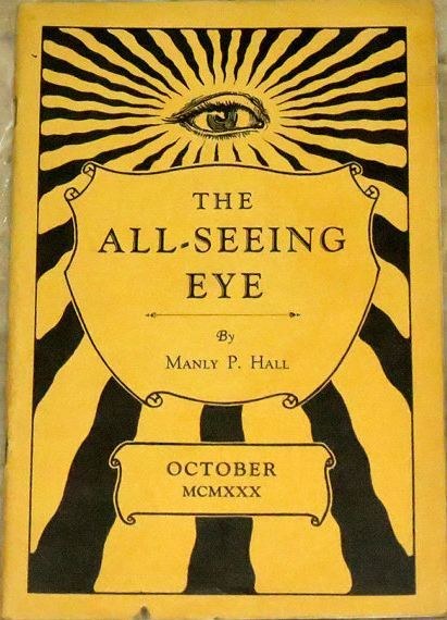 The All Seeing Eye Book Vintage Occult