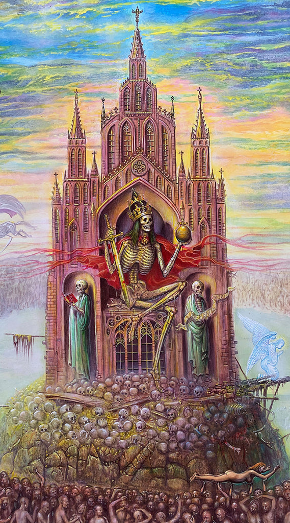 throne of death painting