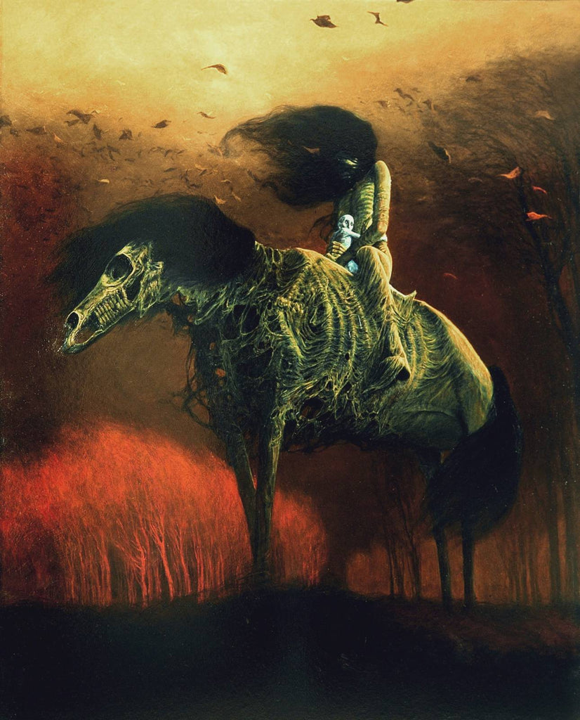 Zdzisław Beksiński, Dystopian Dark Surrealism \u2013 Dark Art and