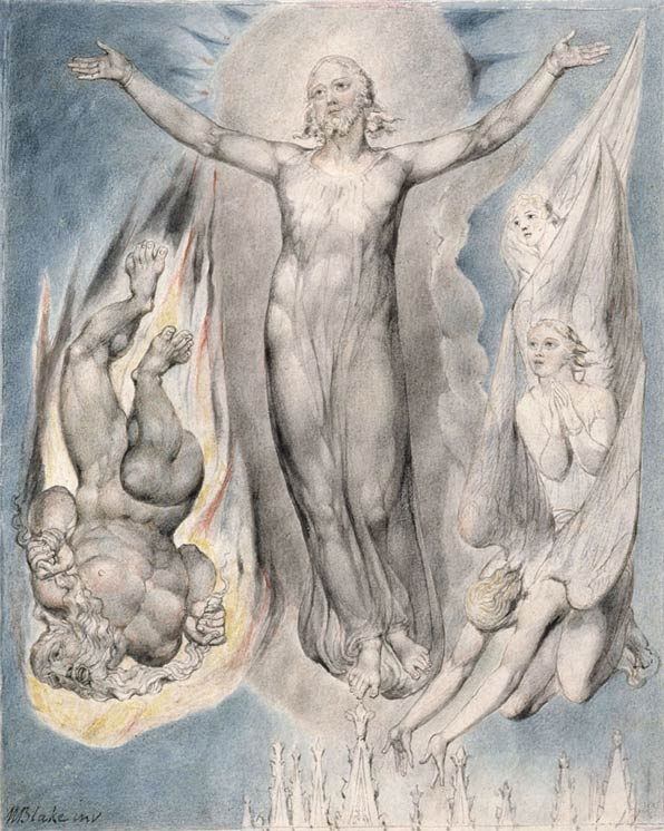 William Blake Dark Painting