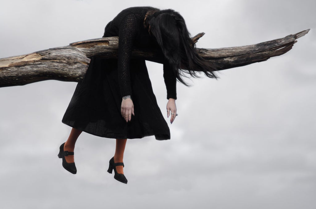 witch in tree stuck