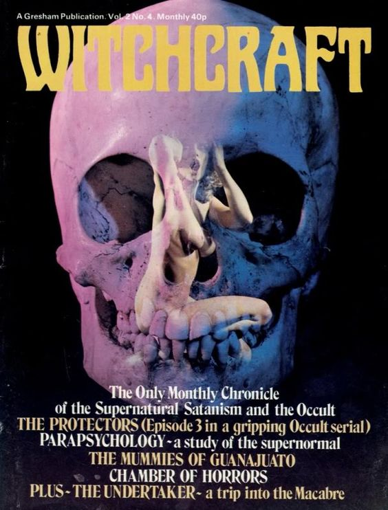 70s pulp cover witchcraft