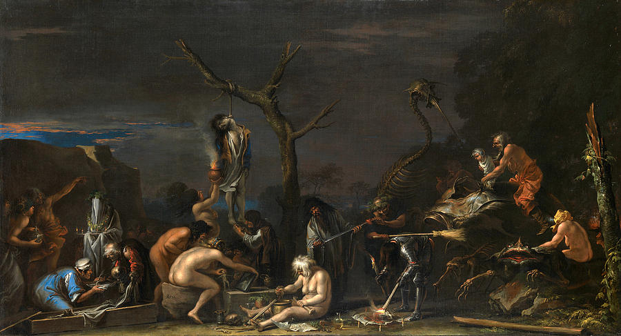 salvator rosa dark art