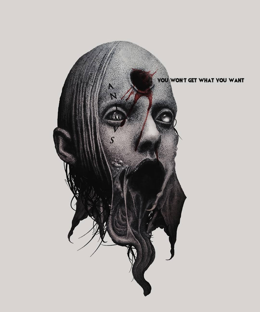 you wont get what you want dark ink art