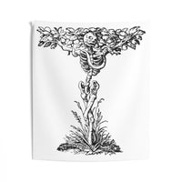 Skeleton Tree Indoor Wall Tapestries