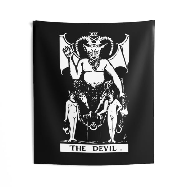 The Devil Indoor Wall Tapestries