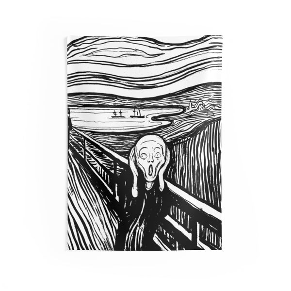 The Scream Indoor Wall Tapestries