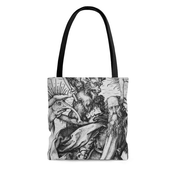 The Temptation of St. Anthony Tote Bag