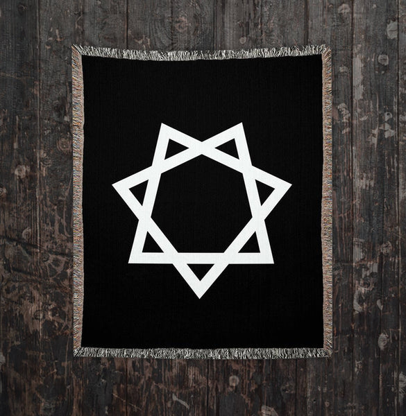 Seal of Babalon Woven Blankets