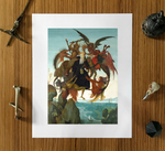 The Torment of Saint Anthony Michelangelo Buonarroti Poster Print