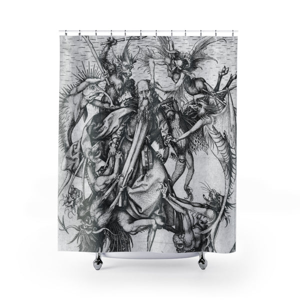 The Temptation of St. Anthony Shower Curtains