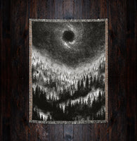 altar of sorrow dark art blanket cotton