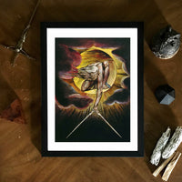 The Ancient of Days William Blake Framed Art Poster