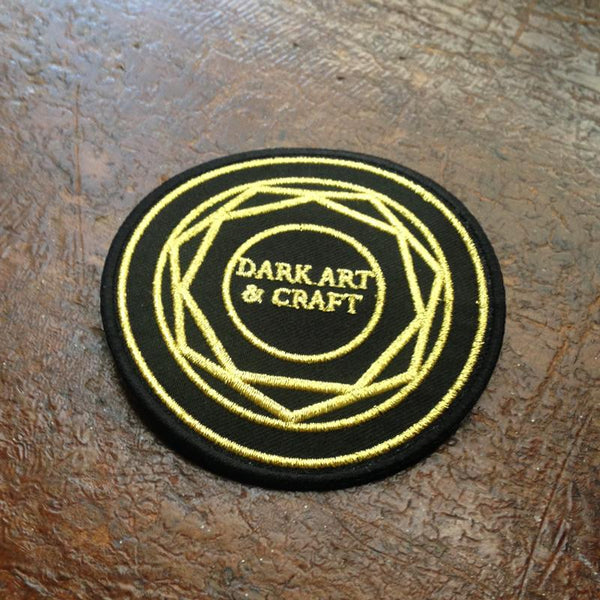 Dark Art & Craft Embroidered Patch