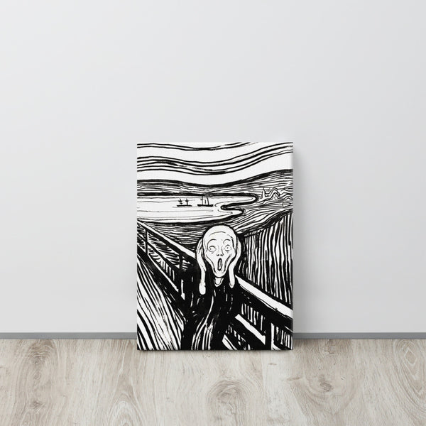 The Scream Canvas