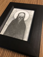 Graphite Art Framed