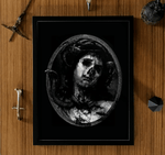 nestor dark art print framed