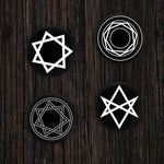 Dark Arts Pin-Back Button Four Pack