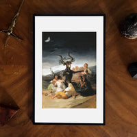 The Sabbath of Witches Francisco Goya Giclee Print