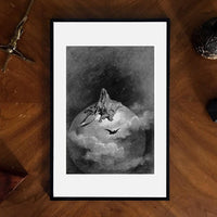 The Raven: Presents a Vision of Death Gustave Doré Giclee Art Prints