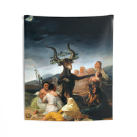 The Sabbath of Witches Francisco Goya Wall Tapestries