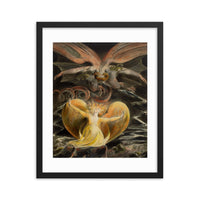 The Great Red Dragon William Blake Framed Poster