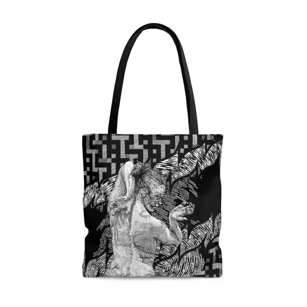 It Runs In Families Caroline Harrison AOP Tote Bag