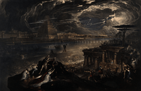 The Fall of Babylon John Martin Framed Poster