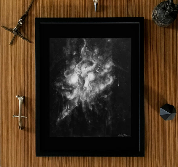 Cerement Galen Baudhuin Framed Poster