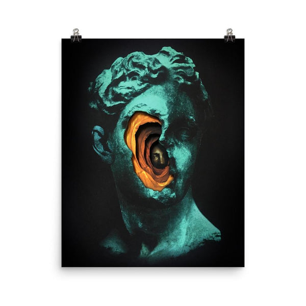 alex eckman-lawn dark collage art print