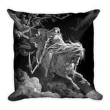 dark art gustave dore pillow