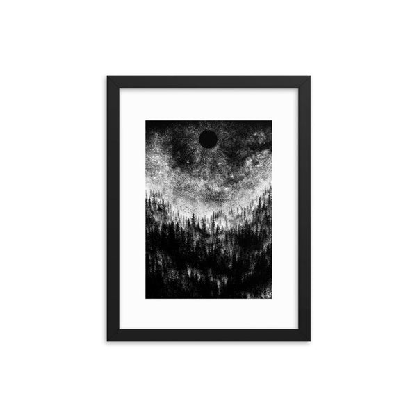 As Darkness Falls Altar of Sorrow Framed Art Poster