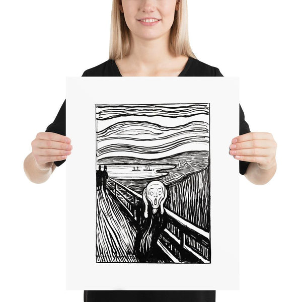 The Scream Edvard Munch Poster