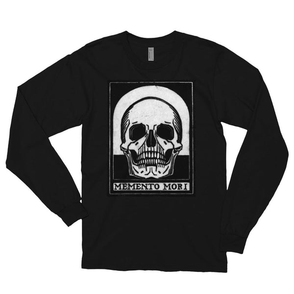 Memento Mori by Julie de Graag Long sleeve t-shirt