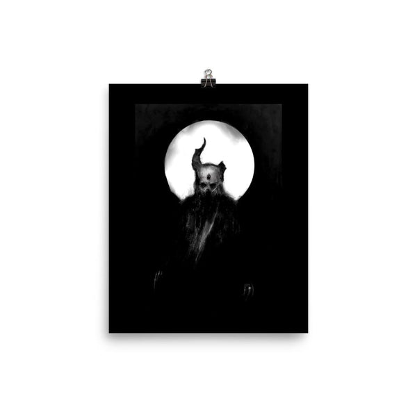 Demon with a Broken Horn Poster Print J Meyers