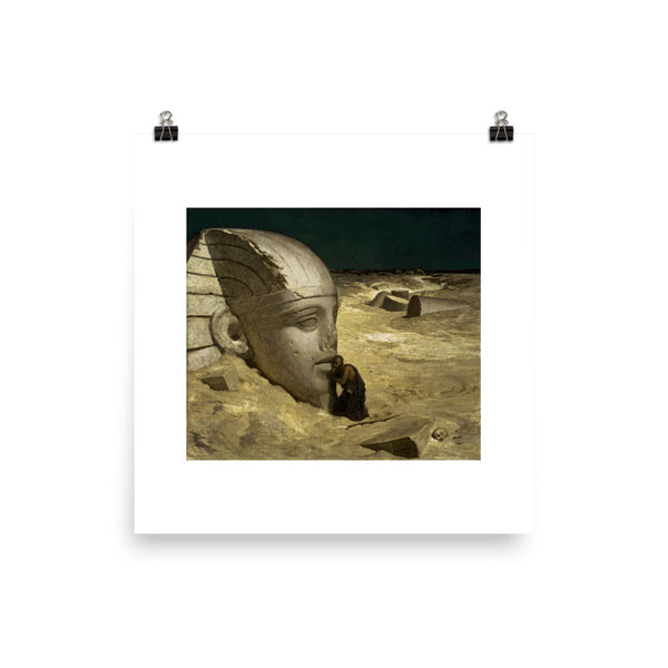 The Questioner of the Sphinx Poster Print