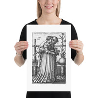 The Lady and Death Poster Print
