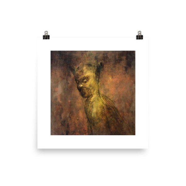 Churchgoer Brad Gray Art Print