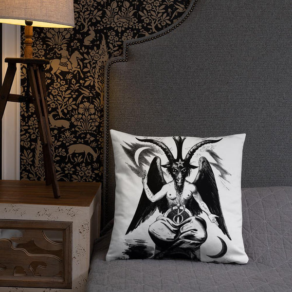 Sabbatic Goat Occult Pillow