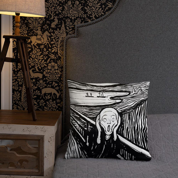 The Scream Edvard Munch Pillow