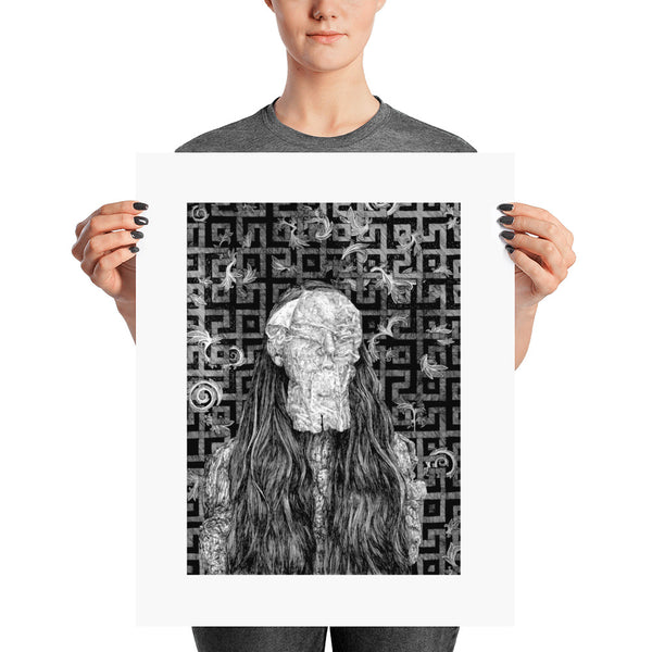 I Choose Lost Caroline Harrison Poster Print
