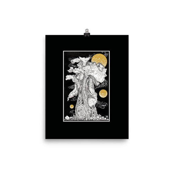 Cosmic Growth Fred Grabosky Graphic Poster Print