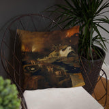 Christ's Descent into Hell Hieronymus Bosch Pillow