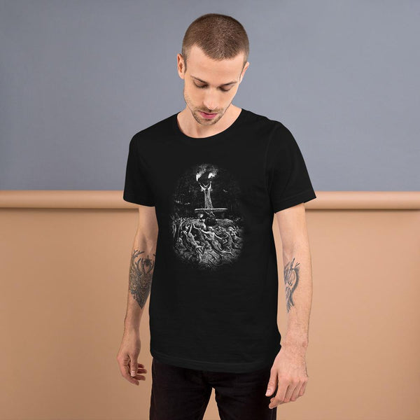"""Witches Dancing at the Sabbath"" Gustave Doré Short-Sleeve Unisex T-Shirt"