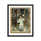 Vasilisa the Beautiful Ivan Bilibin Framed Poster Print