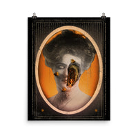 Honeycomb Alex Eckman-Lawn Art Poster dark art