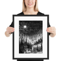 dark art framed print altar of sorrow