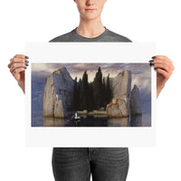 Isle of the Dead Third Version Arnold Böcklin Poster Print
