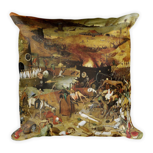 hell on earth pillow